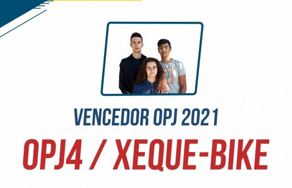 Xeque-Bike vence Orçamento Participativo Jovem 2021